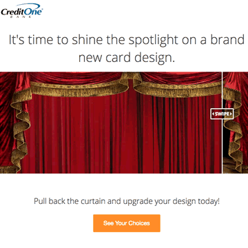 Credit One Bank - Premium Card Layover Page